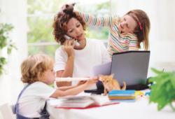 trabajadores con hijos