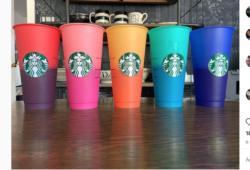 Starbucks-Confetti Cold Cup