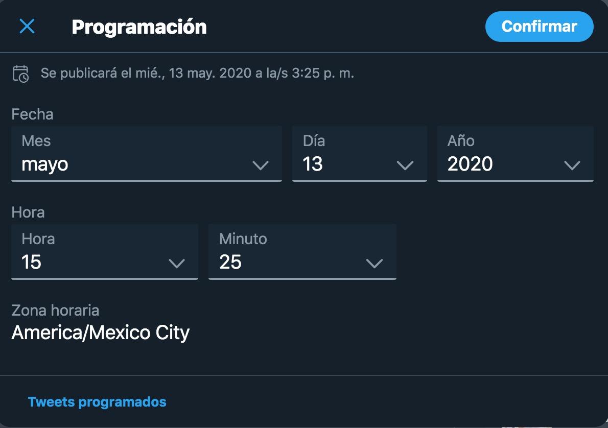 Twitter-programar-tweets