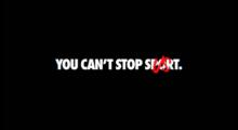 Nike-You Cant Stop Us