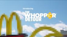 Campaña Destacada: The Whopper Detour, uno de los trolleos más grandes de Burger King para McDonald's