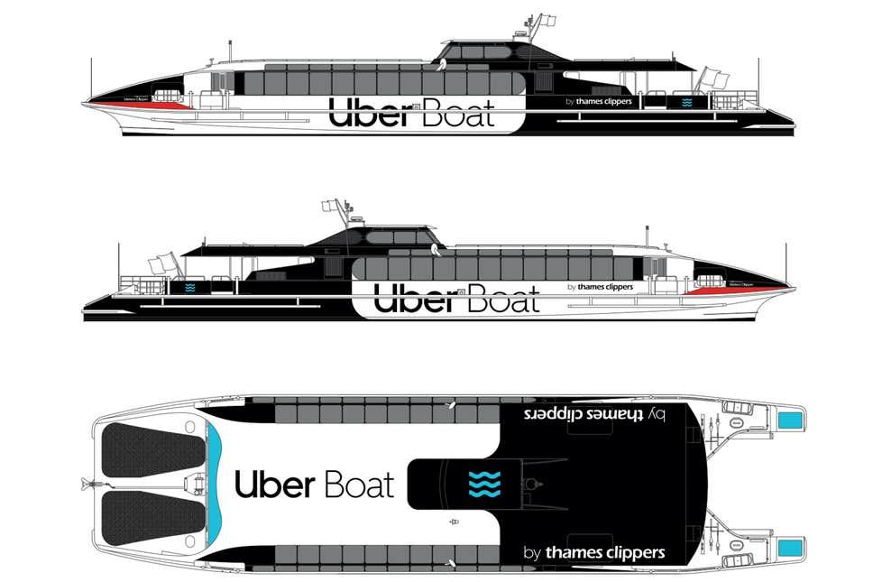 Uber-Boat-thames-clipper-Evening Standard