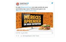 Burger King-smart tv-regreso a clases