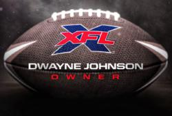 Dwayne Johnson-The Rock-XFL