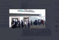 Telmex se enfrentó por error a sus propios usuarios.