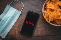 Netflix si fue alcanzado por la pandemia.