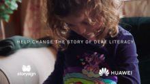 Campaña destacada: StorySign, la iniciativa de Huawei para ayudar a los niños con sordera