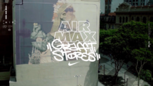 Campaña destacada: Air Max Graffiti Stores o cómo vender tenis usando graffitis