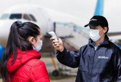 Medidas sanitarias de las aerolíneas de México