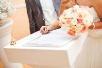 Costo 2021 de matrimonio civil en CDMX