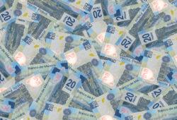billetes de 20 pesos mexicanos