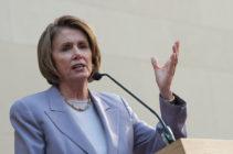 Nancy Pelosi, presidenta de la Cámara de Representantes de EUA