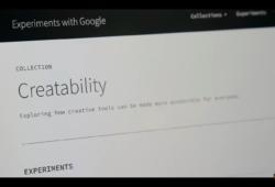 Campaña destacada: Creatability, el proyecto de Google para hacer herramientas creativas más accesibles