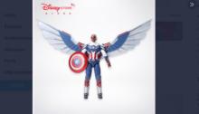 Facon usará un traje fiel al de los cómics, confirmó el juguete