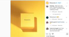 Tiffany&Co. podría estar jugando con sus usuarios