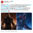 Dos nuevas cintas han sido canceladas por Warner y DC