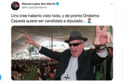 El ex Obispo Onésimo Cepeda va por una diputación