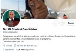 Out of Context Candidatos aclara que no está ligada a algún partido político.