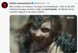Zack Snyder parece tener un nuevo acierto.