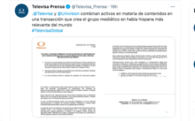 Televisa y Univisión ya rumoraban acerca de su unión.