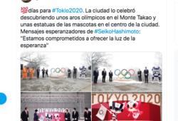 Las mascotas olímpicas fueron presentadas hoy