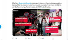 Samuel García relacionado con el narco