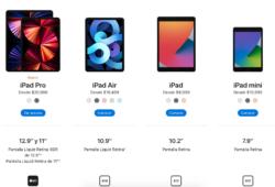 iPad y sus precios