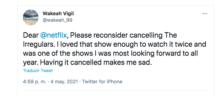 Netflix canceló los irregulares
