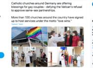 La iglesia católica lo permite