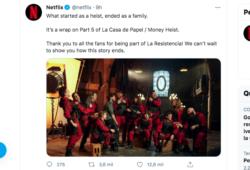 Netflix anuncia el fin de La Casa de Papel