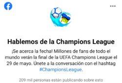 champions Facebook