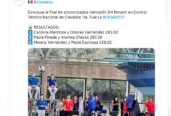 Paola Espinosa y su puesto