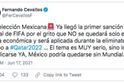 Grito homofóbico provoca sanción a México