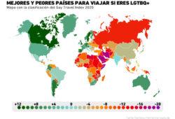 Gráfica del día: Conoce los países más y menos seguros para las personas de la comunidad LGBTQ+
