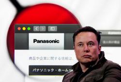 Panasonic Elon Musk Tesla