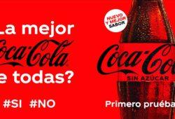 Coca Cola Zero Azúcar se renueva