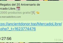 WhatsApp Mercado Libre