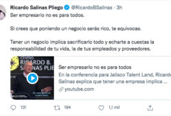 Salinas Pliego Twitter