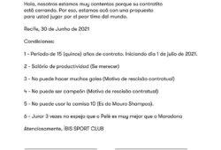 Íbis Messi Pernambuco