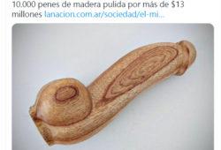 Penes de madera Argentina
