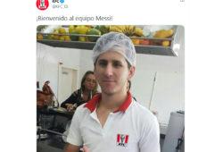 Messi a KFC