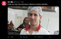 KFC-Messi