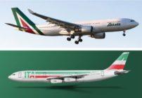 La nueva Alitalia estrena logo en medio de vuelos cancelados