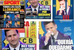 Messi del Barcelona al PSG