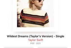 Taylor Swift relanza Wildest Dreams sólo en Apple Music (Spotify es la gran perdedora)