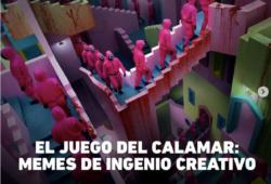 """""""El juego del Calamar"""" y marketing"""