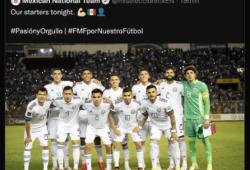 México vs El Salvador
