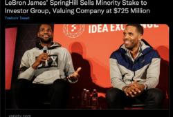LeBron James y SpringHill