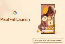 Pixel 6 evento de Google