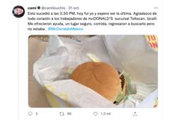 agresión sexual McDonald's